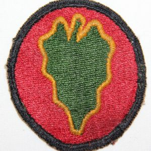 G105. WWII 24TH INFANTRY DIVISION PATCH