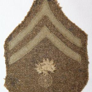 B130. WWI ORDNANCE CORPORAL CHEVRONS
