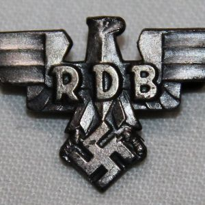 P059. WWII GERMAN RDB MEMBERSHIP LAPEL PIN
