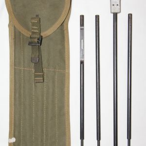 E124. WWII 1943 DATED .50 CAL MG CLEANING KIT