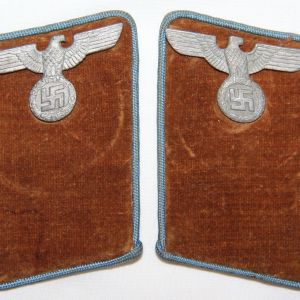 O.099. WWII GERMAN NSDAP ORTSGRUPPE LEVEL COLLAR TAB SET