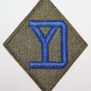 G121. WWII 26TH INFANTRY DIVISION PATCH