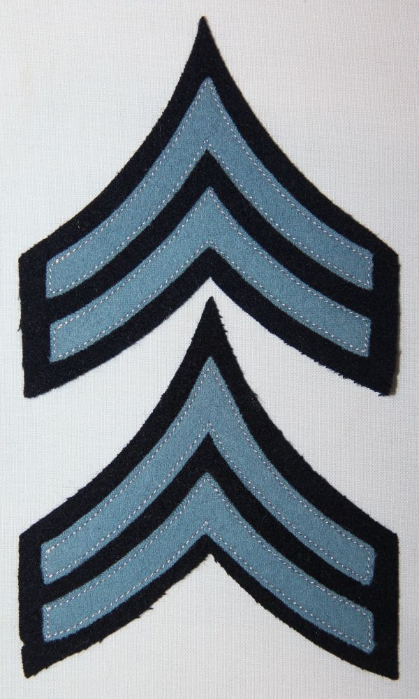 A030. M1902 INFANTRY CORPORAL CHEVRONS