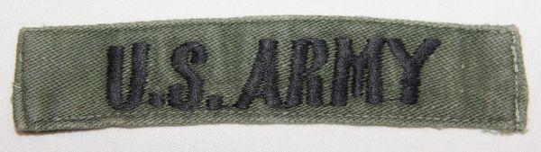 T119. VIETNAM THEATER MADE U.S. ARMY UNIFORM TAPE