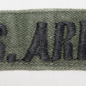 T119. VIETNAM THEATER MADE U.S. ARMY UNIFORM TAPE