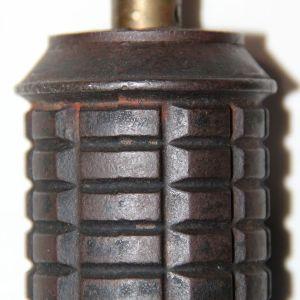 M037. INERT WWII JAPANESE TYPE 97 HAND GRENADE