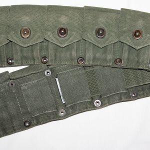 E163. WWII 10 POCKET CARTRIDGE BELT