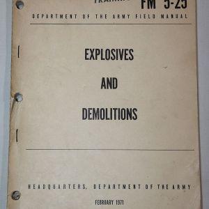 T137. VIETNAM EXPLOSIVES AND DEMOLITIONS MANUAL