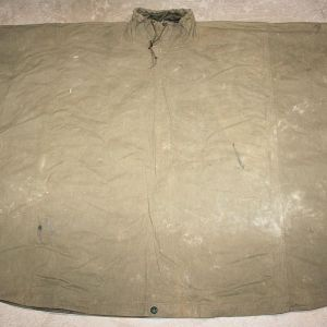 D055. WWII 1945 DATED MULTI USE PONCHO