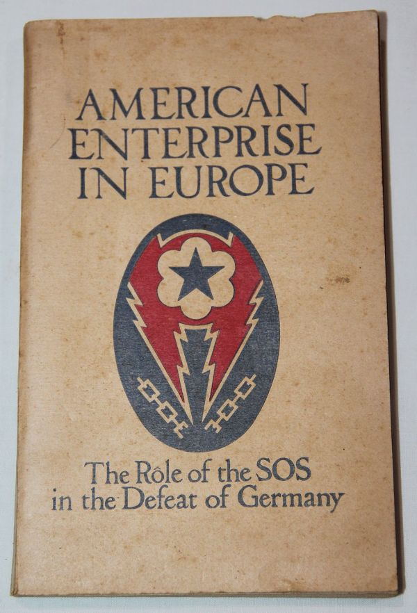 J050. WWII SERVICE OF SUPPLY IN EUROPE UNIT HISTORY
