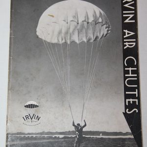 J051. RARE WWII IRVIN PARACHUTE SERVICE MANUAL