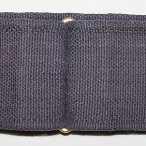A034. SPANISH AMERICAN WAR BLUE SINGLE LOOP KRAG CARTRIDGE BELT