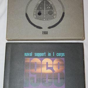 T144. DANANG VIETNAM NAVAL SUPPORT ACTIVITY 1968 YEARBOOK