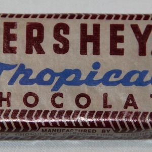 E214. MINT WWII HERSHEY'S TROPICAL CHOCOLATE RATION BAR