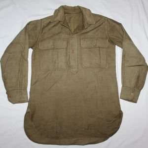B176. WWI WOOL PULLOVER COMBAT FIELD SHIRT