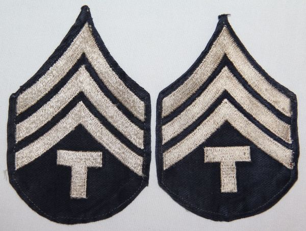 G130. WWII TECHNICAL SERGEANT CHEVRONS