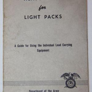 "T171. VIETNAM ""HEAVY HINTS FOR LIGHT PACKS"" BOOKLET"