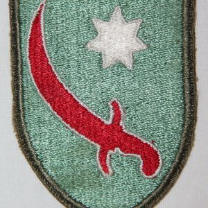 G134. WWII PERSIAN GULF SERVICE COMMAND PATCH