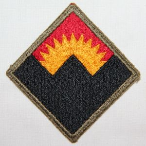 G138. WWII ANTI AIRCRAFT COMMAND WESTERN PATCH