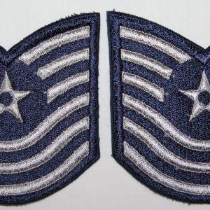 T191. KOREA - VIETNAM USAF MASTER SERGEANT CHEVRONS
