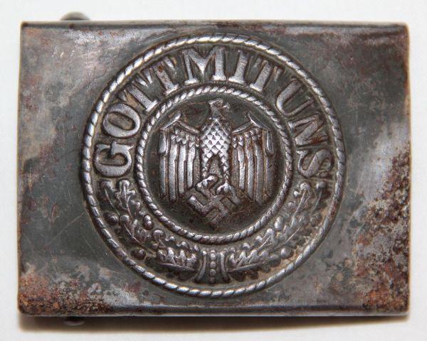 M055. WWII GERMAN ARMY BELT BUCKLE