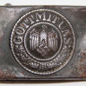 M055. WWII GERMAN ARMY BELT BUCKLE
