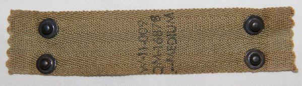 C062. WWII M1 HELMET LINER SIZE MEDIUM NAPE STRAP