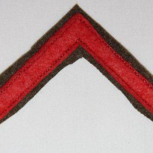 B200. WWI DISCHARGE CHEVRON