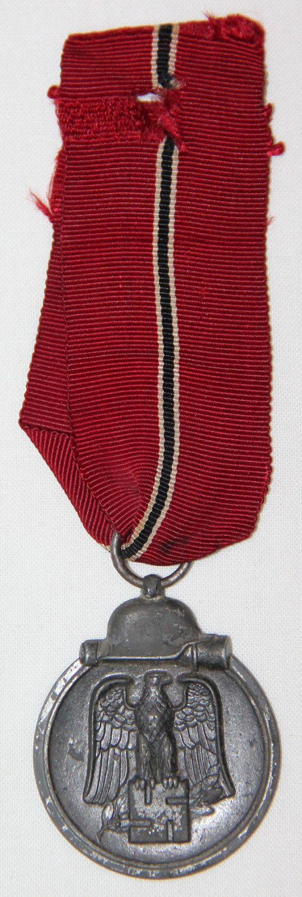 Q042. WWII GERMAN HALLMARKED 1941-1942 RUSSIAN FRONT MEDAL