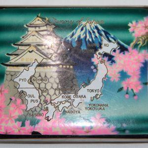S096. KOREAN WAR SOUVENIR CIGARETTE CASE FROM JAPAN