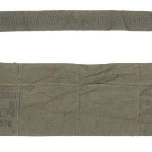 S100. KOREAN WAR 1952 M1 CARBINE AMMO BANDOLEER