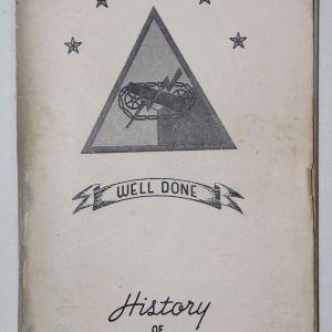 J069. WWII 712TH TANK BATTALION UNIT HISTORY