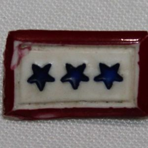 I077. WWII HOME FRONT THREE STAR SON IN SERVICE LAPEL PIN