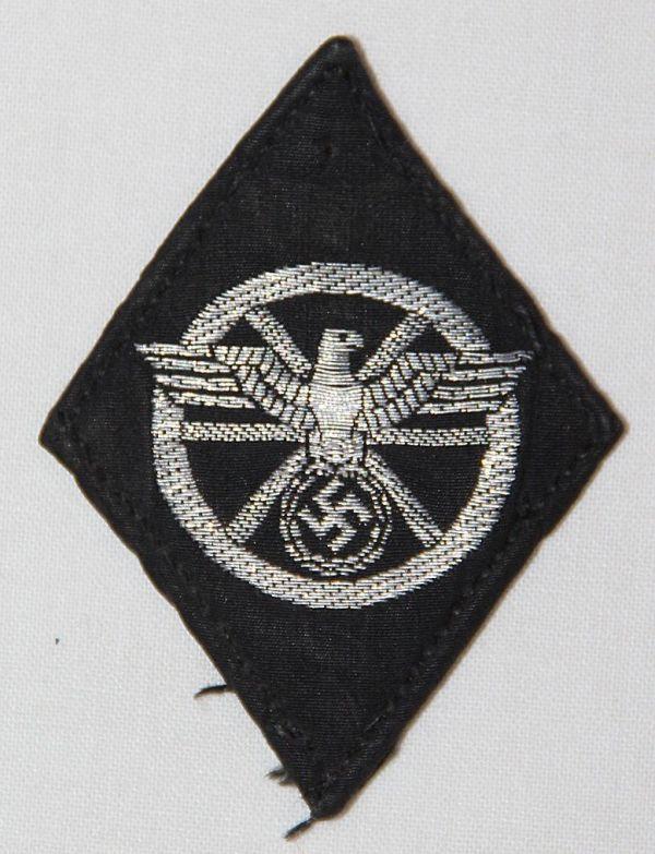 O.132. WWII GERMAN NSKK DRIVERS SLEEVE DIAMOND