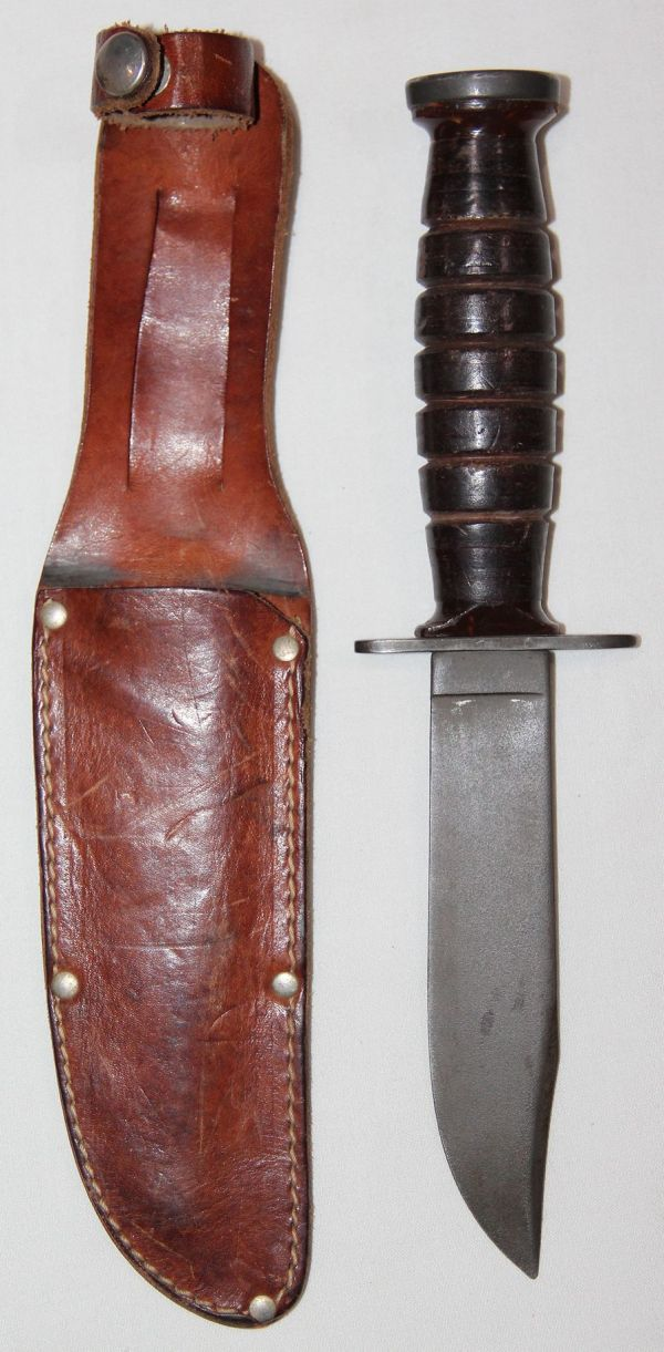 S118. EARLY 1950'S PILOTS SURVIVAL KNIFE BY IMPERIAL