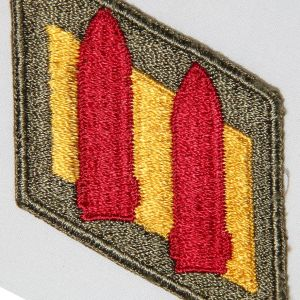 G176. WWII 2ND COAST ARTILLERY DISTRICT PATCH