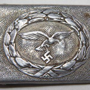 M080. WWII GERMAN LUFTWAFFE 2 PIECE BELT BUCKLE