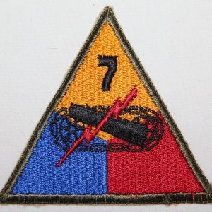 G183. WWII 7TH ARMORED DIVISION PATCH