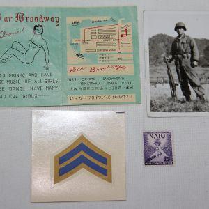 S128. SMALL KOREAN WAR PAPER GROUP