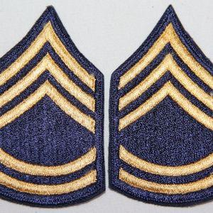 S129. KOREAN WAR NON-COMBAT SERGEANT 1ST CLASS CHEVRONS
