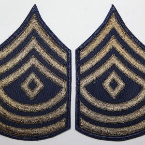 S131. UNISSUED KOREAN WAR FIRST SERGEANT CHEVRONS
