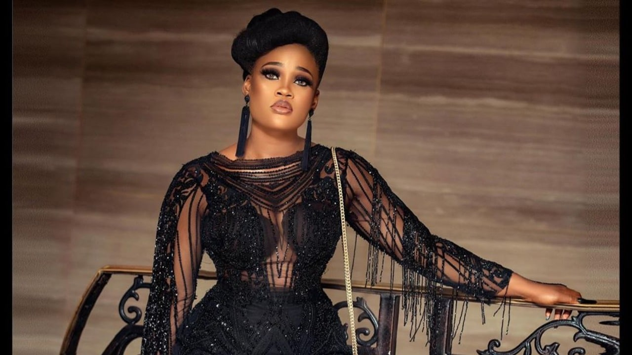 BBNaija Cee-C Resurfaces From Self Isolation After AMVCA 2020