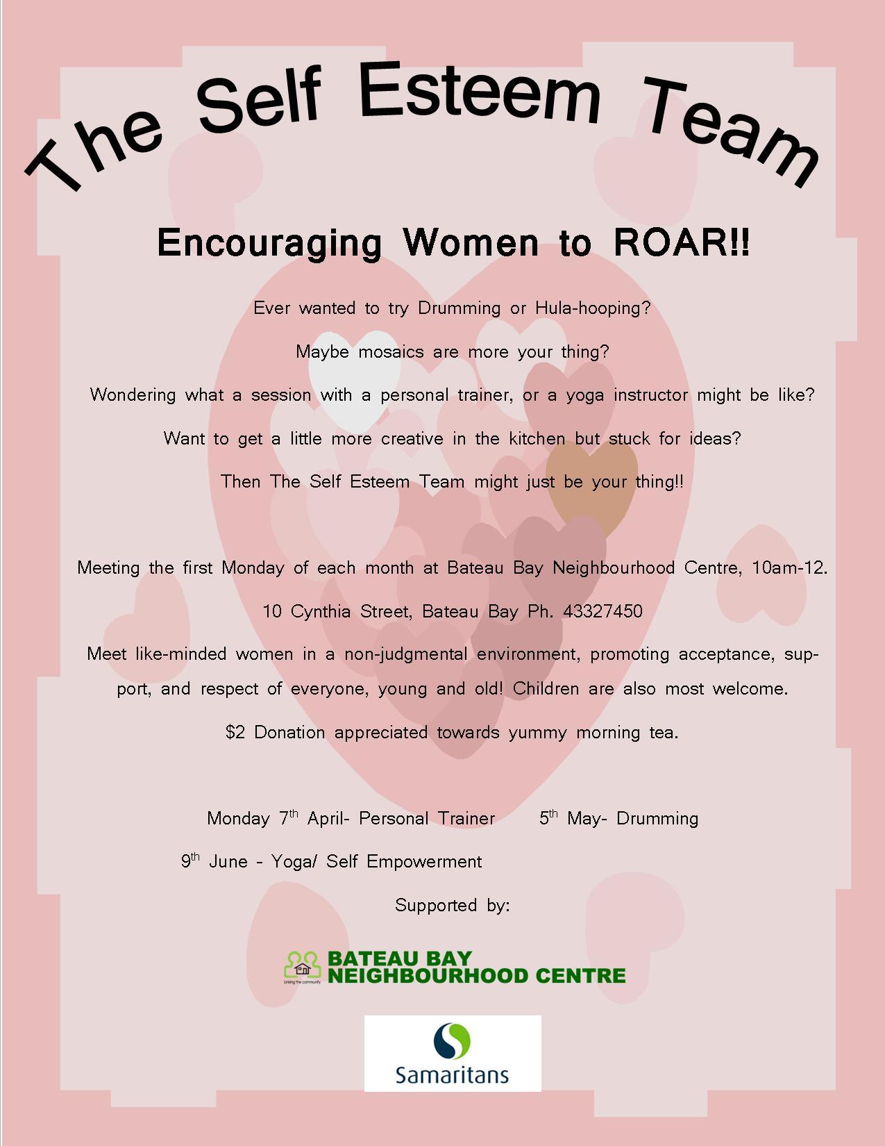 Women S Self Esteem Group Activities