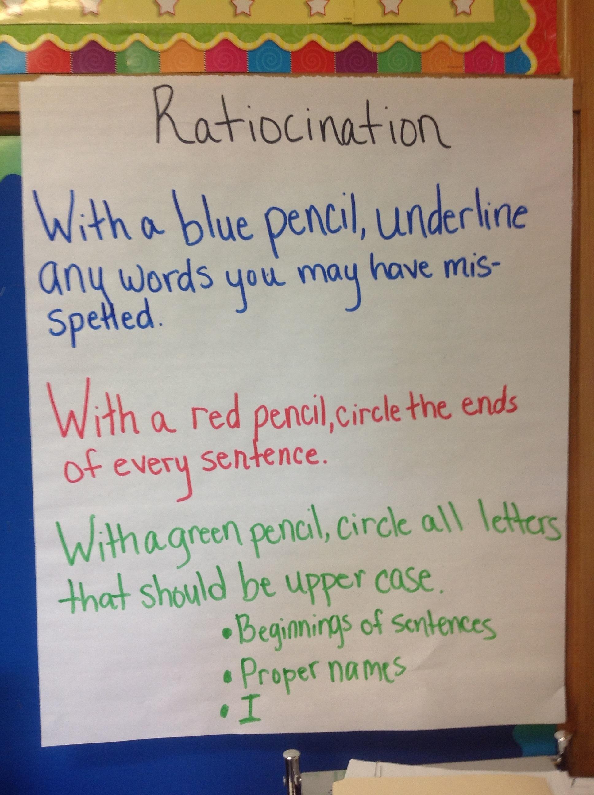 Ratiocination