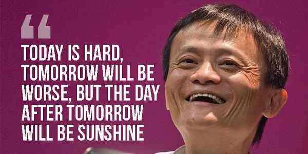 jack ma education