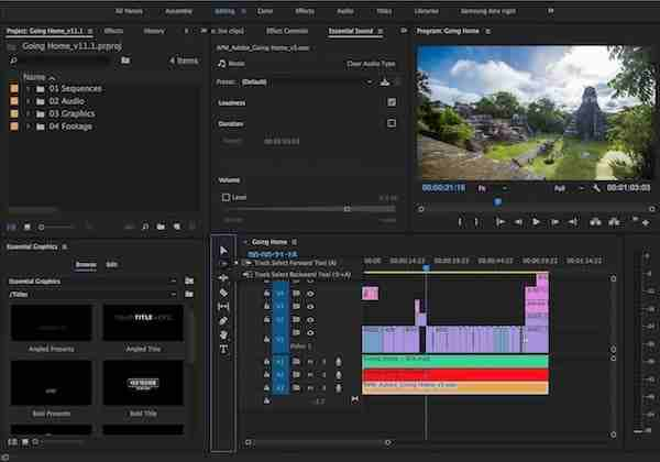 video editing software free download full version