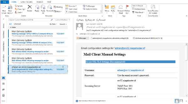 how to configure outlook 2007