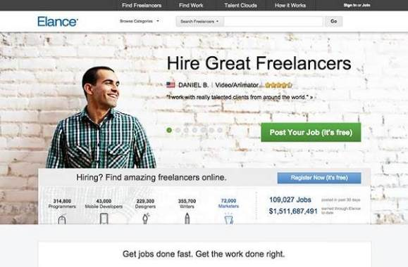 top freelance sites