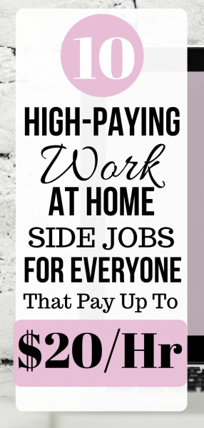 Local Work From Home Jobs Paying as Much or a Lot More Than