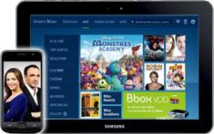 b tv mobile et b tv tablette mises a